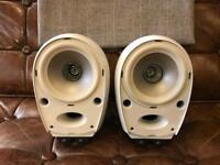 Tannoy Arena White Gloss Surround Sound Speakers