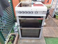 FLAVEL CERAMIC ELECTRIC COOKER 60 CM DOUBLE OVEN LIKE NEW