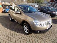 Nissan Qashqai Acenta 2WD immaculate condition, 12 Months MOT, RAC warranty