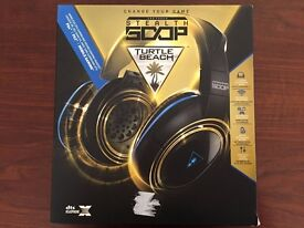 Turtle Beach Ear Force Stealth 500P Black/Blue Headband Headsets for PS4 and PS3