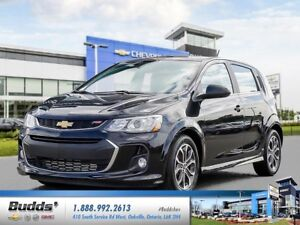 2017 Chevrolet Sonic LT Auto 0.9% for up to 24 months O.A.C.!