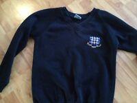 Rutlish School Blazer and sweatshirt