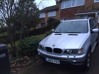 LHD BMW X5 3.0d Sport Left Hand Drive (E53) Dec 2002 VGC Low Mileage Winter Tow Ready UK Registered