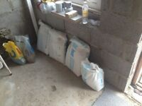 3 and half bags of plasterboard adhesive