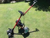 Hill Billy Electric Golf Trolley (Red)