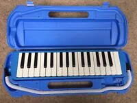 Melodica with hard case