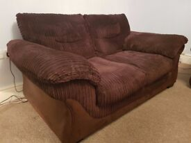 2 x 2 seater & 1 x chair good condition
