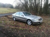 MERCEDES S-CLASS STUNNING WITH FULL SERVICE HISTORY!