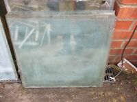 used greenhouse glass 18 inch x 20 inch ( 18 panes)