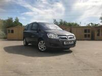 2011 VAUXHALL ZAFEFA 1.7 CDTI DIESEL 6 SPEED BOX ** FULL MOT **