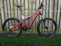 2012 Specialized Stumpjumper FSR Full Suspension Mountain Bike