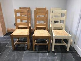 Painted Parisinne Chairs