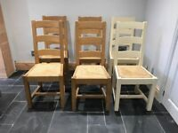 Painted Parisinne Chairs