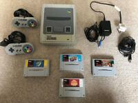 SNES Console and Games Bundle