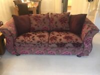 Large two seater sofa (DFS)