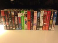 17 VHS tapes for sale