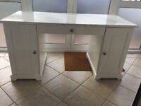 Bedroom Desk from Ikea white