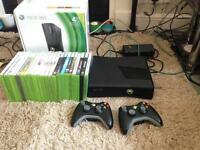 Xbox 360 4GB go with 28 games