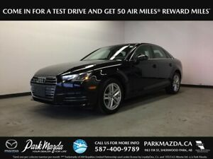 2017 Audi A4 Komfort AWD - Bluetooth, Heated/Leather Seats, Moon