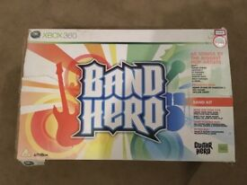Band Hero for Xbox 360 including additional guitar hero games