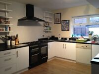 happy house seeking housemate double room available now £350pcm all inclusive