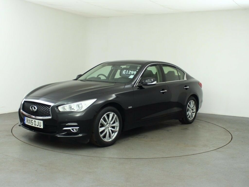 infiniti q50 se executive d black 2015 in blackwood caerphilly gumtree. Black Bedroom Furniture Sets. Home Design Ideas