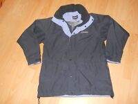 BERGHAUS GORETEX NAVY AND PALE BLUE JACKET SIZE 12
