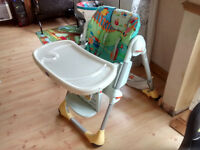 Chicco Polly 2 In 1 High Chair Highchair