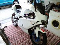 Aprilia RS 125cc, 2005, Full Power. MOT 125 learner legal motorbike.