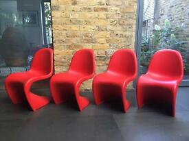 Vitra Panton Junior Chair x4