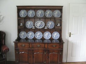 Titchmarsh and Goodwin Style Solid Oak Welsh Dresser