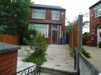 Fully Refurbished Three Bedroom Semi Detached Property in Cheetham Hill off Queens Road
