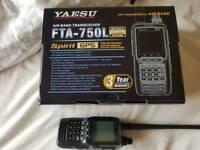 Yaesu FTA 750L airband tranceiver / receiver brand new