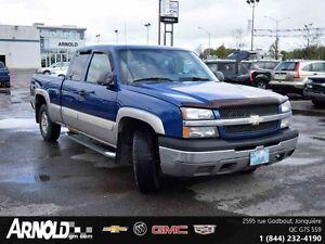 2004 Chevrolet SILVERADO 1500 4WD EXTENDED CAB LS