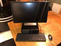 """Dell Optiplex 3020 Desktop PC - Core i5 - 23"""" Dell LED Monitor"""