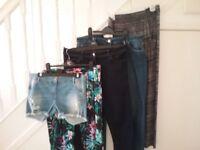 Womens Clothes Bundle, Trousers & Shorts (5 items)