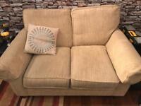Cream 2-Seater Sofa