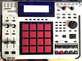 AKAI MPC 2500 SE - Special limited edition - Mint with box and JJOS Manual