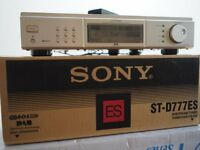 Sony ST-D777ES DAB HiFi Tuner - Excellent Condition - Boxed