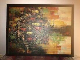 Large IKEA abstract picture