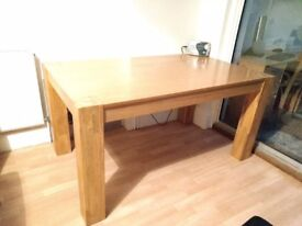 Pine Table 90cm x 150cm very good used condition