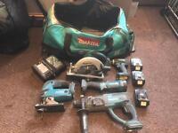 Makita cordless power tools