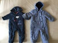 baby winter bodysuit size 3-6 months and 6-9 months