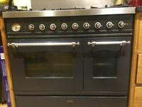Britannia 90cm dual fuel range cooker