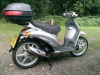 Piaggio Liberty 50cc moped