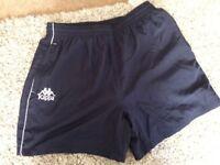 KAPPA brand new mens navy shorts size Medium mesh inner