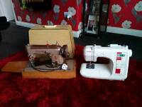 Singer 306k + Janome CXL301 sewing machines