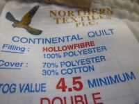 Double Hollowfibre Duvet 4.5 tog