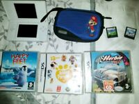 Nintendo DS Lite +games bundle