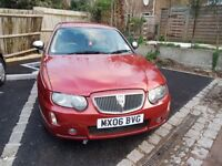 2006 Rover 75 Red Saloon 4dr 1.796 Manual